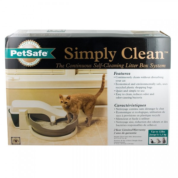 natures miracle multi cat self cleaning litter box